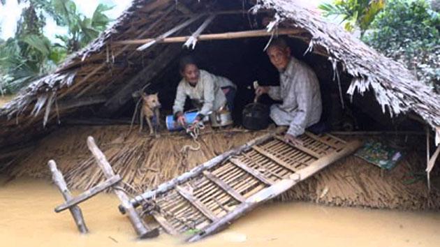 Miền trung lũ lụt