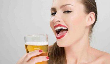Tác dụng làm đẹp của bia