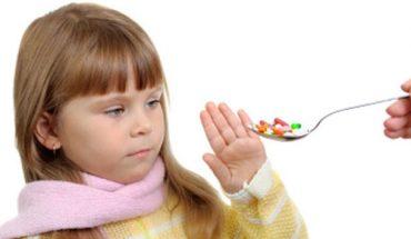 Trẻ sợ uống thuốc